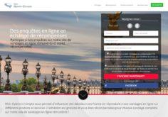Mon-Opinion-Compte.fr : site d'enquête rémunérée