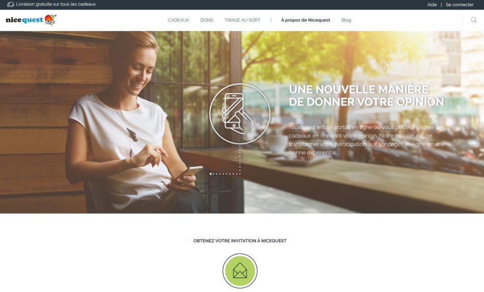 plateforme nicequest.com