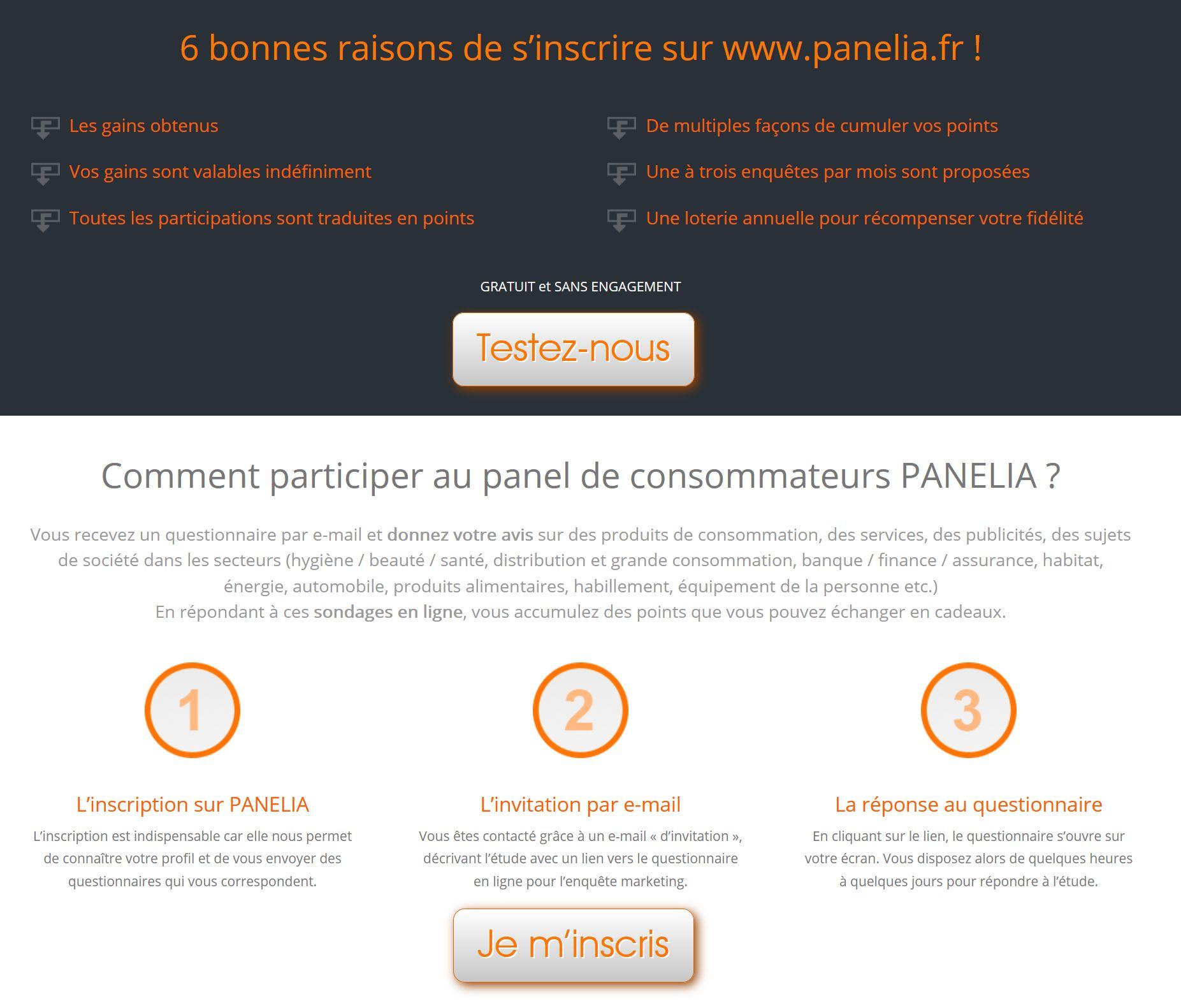 rejoindre les enquêtes panelia
