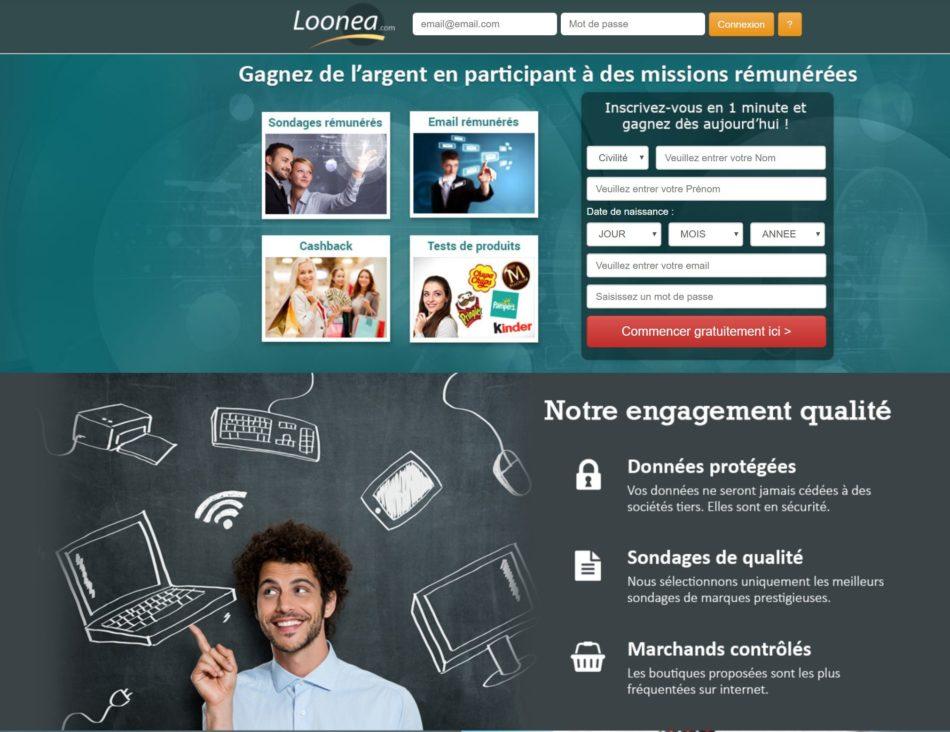 avis sur le site loonea.com